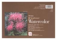 Блок для акварели Strathmore 400 Series Watercolor 300г/кв.м, 17,8х25,4см, 15л