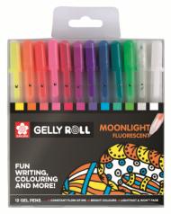 Набор гелевых ручек Sakura Gelly Roll Moonlight 12 штук в пластиковой упаковке