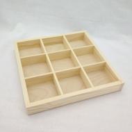 Заготовка Timberlicious для декорирования органайзер деревянный 25*25*3см
