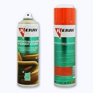 Очиститель велюра и обивки салона Kerry, пенный, аэрозоль, 650 мл