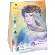 Планшет для акварели Лилия Холдинг «Осенний сон», А4, 280 г/м2, 20 листов