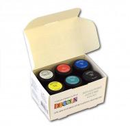 Акриловые перламутровые краски Decola НЕВСКАЯ ПАЛИТРА для рисования, декора, набор 6 цв.по 20 мл