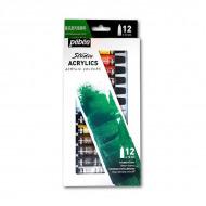 Набор акриловых красок Studio Acrylics PEBEO, 12 цв. по 12 мл