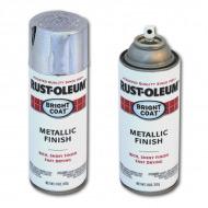 Эмаль Stops Rust RUST-OLEUM с эффектом сияющего металлика, аэрозоль, 312 г