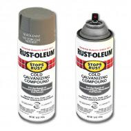 Компаунд Stops Rust RUST-OLEUM для защиты от ржавчины (цинкования), аэрозоль, 454 г