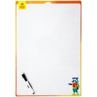 Доска для рисования с маркером двухсторонняя Мульти-Пульти, 240*340мм