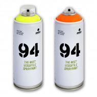 Краска для граффити MTN 94 MONTANA акриловая флуоресцентная, 400 мл, цвета в ассортименте