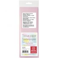 Бумага тишью Werola, 50*75см, 5 листов, 17г/м2, бледно-розовая, однотонная, пакет, европодвес