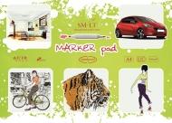 Альбом для маркеров  SM-LT Art Marker pad 100г/м2 A4 25 листов склейка