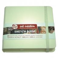 Скетчбук для зарисовок Art Creation Royal Talens, 160 г/м2, 12х12 см, 80 листов