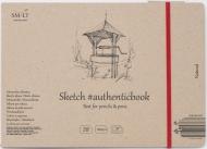 Альбом SM-LT Art Authentic Natural 100г/м2 24.5х18cм 32 листа с закладкой-застежкой книжный переплет (сшитый)