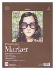 Альбом для маркеров Strathmore 400 Series Marker 190г/кв.м, 27,9х35,6см, 24л