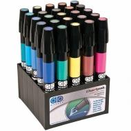 Набор художественных маркеров Chartpak Basic «Основные цвета», 25 цветов