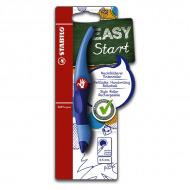 Ручка-роллер EASYOriginal STABILO для письма и обучения, эргономичный корпус, 0.5 мм, синяя