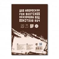 """Блокнот для эскизов и зарисовок """"Sketches"""" на склейке Лилия Холдинг, 90 г/кв.м, формат А4, 120 л."""