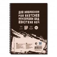 "Блокнот для эскизов и зарисовок ""Sketches"" Лилия Холдинг, 90 г/кв.м, формат А5, 60 л."