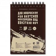 """Блокнот для эскизов и зарисовок """"Sketches"""" Лилия Холдинг, 90 г/кв.м, книжный формат А5, 60 листов"""