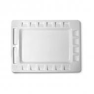 Палитра художественная «Итальянский стандарт» Cwr, 32х42 см, пластик, 18 ячеек