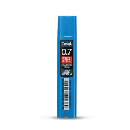 Грифели для любых автоматических карандашей Pentel Ain Stein, 12 шт. 0,7 мм, 2B, HB
