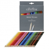 Набор профессиональных цветных карандашей Cretacolor Artist Studio Line, 24 цвета
