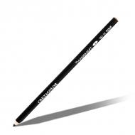 Карандаш масляный черный мягкий «Гром» CRETACOLOR для рисования, поштучно