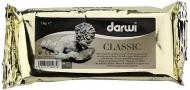 Модельная масса для лепки Darwi Classic самозатвердевающая, белая, 1кг