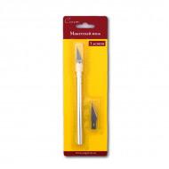 Макетный цанговый нож Сонет НЕВСКАЯ ПАЛИТРА для моделирования, скрапбукинга и тп., 3 лезвия