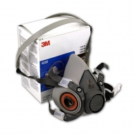 Защитная полумаска 3М 6200 (серия 6000), средний размер (М)
