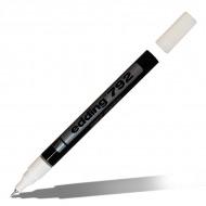 Маркеры перманентные лаковые EDDING 792 для росписи и маркировки, 0.8 мм, черный/белый