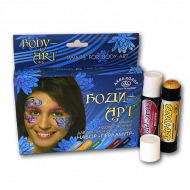 Краски-карандаши для росписи лица и тела Аква-Колор Боди-арт «Перламутр», набор 6 цв.