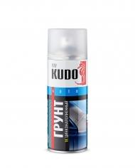 Грунт-спрей 1К цинконаполненный Kudo,  серый, аэрозоль 520 мл