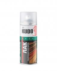 Тонирующий акриловый лак для дерева Kudo, аэрозоль, 520 мл
