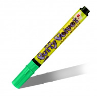 Перманентные неоновые маркеры Marvy «Puffy Velvet» 2-3 мм с эффектом бархата для декора ткани