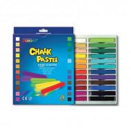 Пастель сухая меловая для рисования и детского творчества MUNGYO CHALK 24 цвета