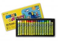 Пастель для детей и взрослых масляная MUNGYO MINI 16 цветов в картонной коробке