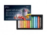 Масляная пастель MUNGYO Gallery Soft oil мягкая 12 цветов для профессионалов