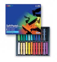 Пастель художественная мягкая для детей и взрослых MUNGYO Soft Pastel 24 цвета