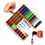 Набор акриловых маркеров Molotow One4All 127HS Basic-Set II для декора и рисования, 10 цв., 2 мм