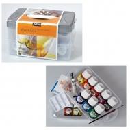 Набор красок по стеклу и металлу Vitrea 160 Workbox PEBEO, 10цветов по 45 мл