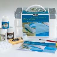 Набор красок для росписи по ткани Setacolor Workbox PEBEO, 10х45мл