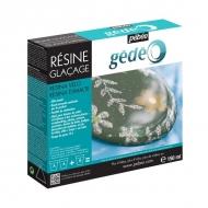 Эпоксидная смола с эффектом глазури Pebeo Glazing Resin, двухкомпонентная, 300 мл