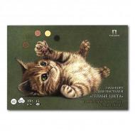 """Планшет для пастелей """"Теплые цвета"""" Лилия Холдинг, 160 г/кв.м, формат А4, 15 листов"""