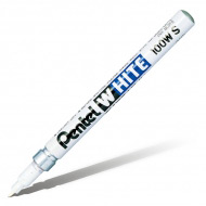 Маркер белый перманентный Pentel White с круглым наконечником 2,0 мм