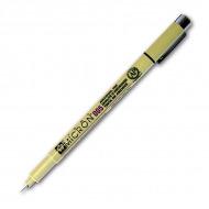 Архивные капиллярные ручки (линеры) Sakura Pigma Micron, наконечник от 0.25 до 0.5мм, черные