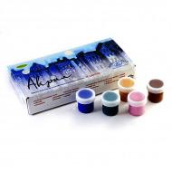 Акриловые краски АКВА-КОЛОР набор «Акрил» для творчества, 18 цветов