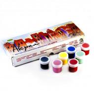 Акриловые краски АКВА-КОЛОР набор «Акрил» для творчества, 24 цвета