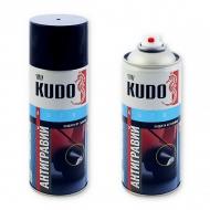 Антигравий Kudo, прозрачный бесцветный / черный, 520 мл