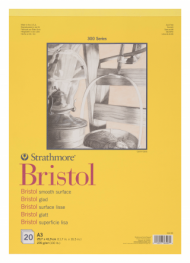 Альбом для графики Strathmore 300 Series Bristol 270г/кв.м, 29,7х42см, 20л