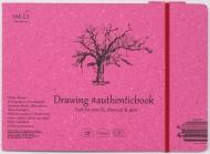 Альбом SM-LT Art Authentic Drawing 120г/м2 24.5х18.2 cм 32 листа с закладкой-застежкой книжный переплет (сшитый)