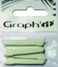 Набор наконечников для маркера Graph-It 6 штук широкие (долото)